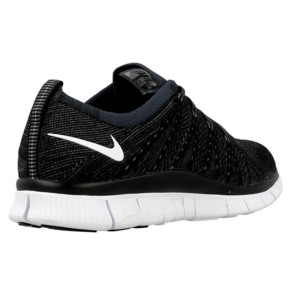 nike free flyknit nsw 599459 001 white black en. Black Bedroom Furniture Sets. Home Design Ideas