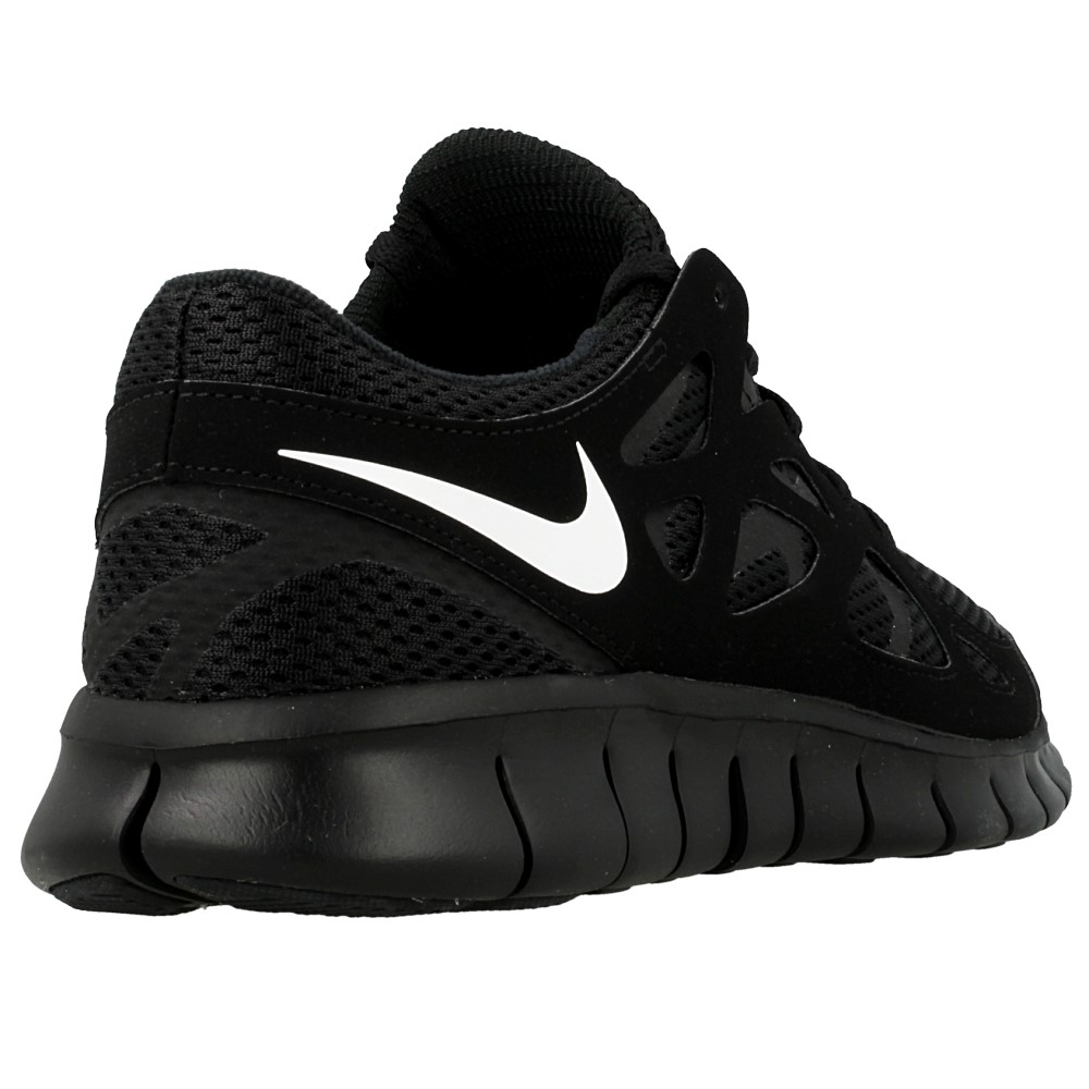 Nike FS Lite Run 2 Black/red Men Running Shoes 8 AHA Produktion