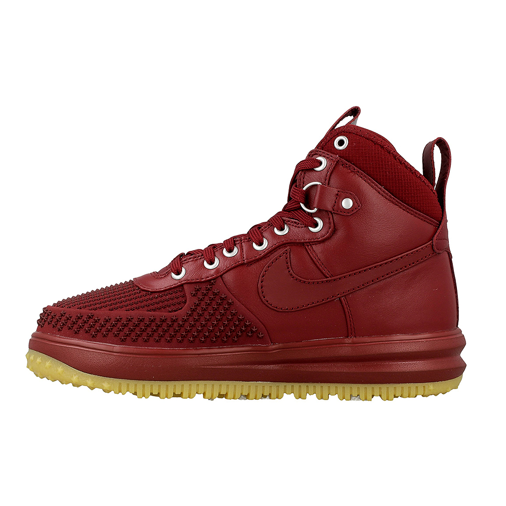 nike lunar force 1 duckboot 805899 600 dark red en. Black Bedroom Furniture Sets. Home Design Ideas