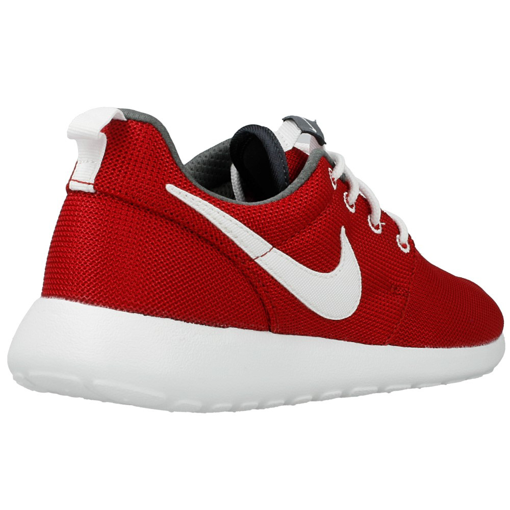 nike roshe run gs 599728 603 white red en. Black Bedroom Furniture Sets. Home Design Ideas
