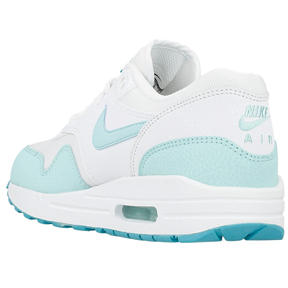 nike wmns air max 1 essential 599820 113 white light. Black Bedroom Furniture Sets. Home Design Ideas