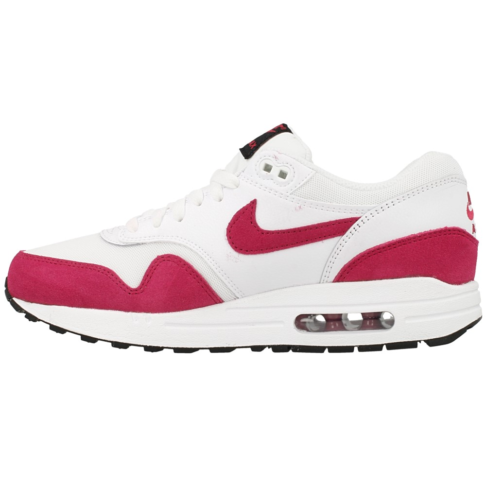 nike wmns air max 1 essential 599820 117 white pink. Black Bedroom Furniture Sets. Home Design Ideas