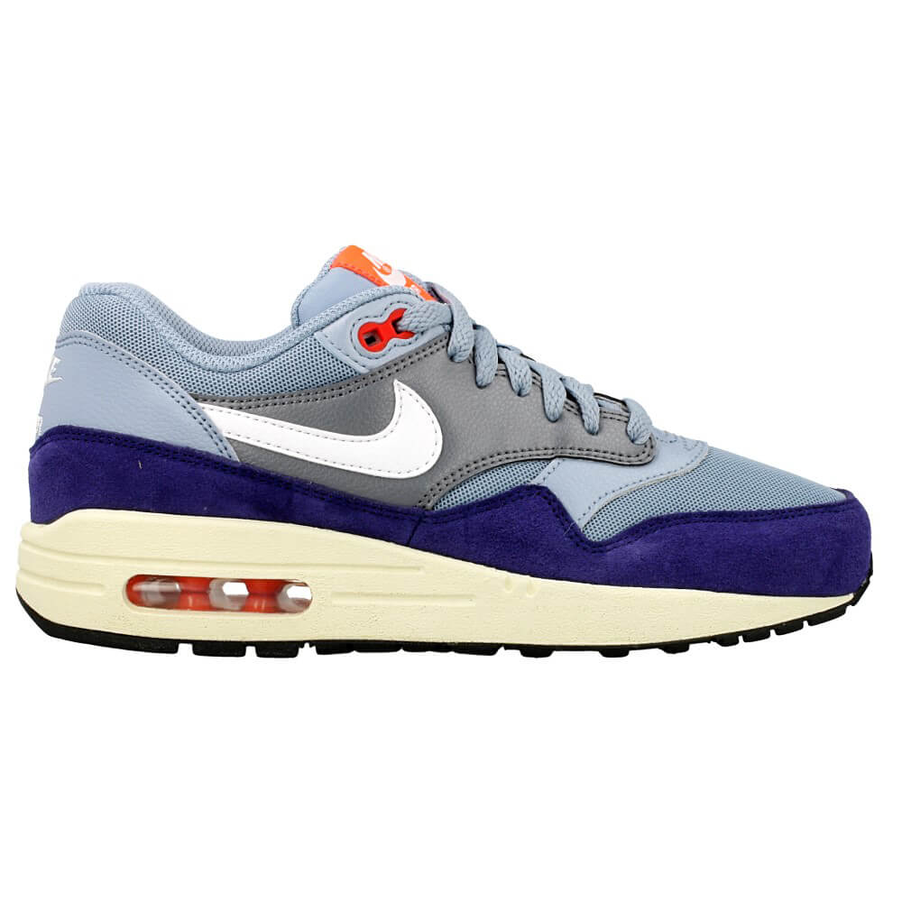 nike wmns air max 1 essential 599820 400 purple blue. Black Bedroom Furniture Sets. Home Design Ideas