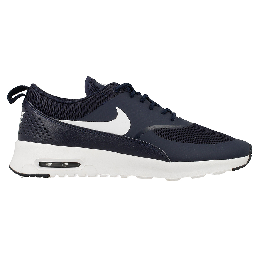 nike wmns air max thea 599409 409 white dark blue en. Black Bedroom Furniture Sets. Home Design Ideas