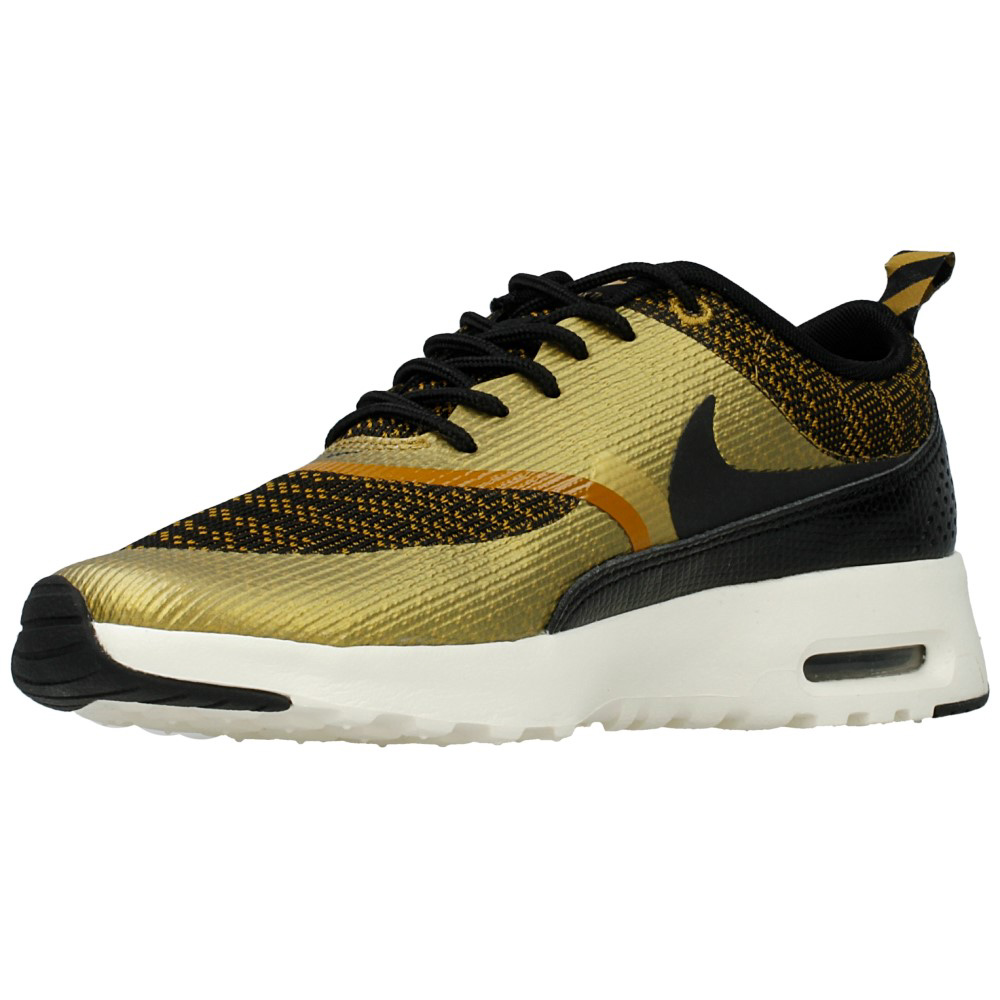 nike wmns air max thea kjcrd 718646 700 black gold en. Black Bedroom Furniture Sets. Home Design Ideas