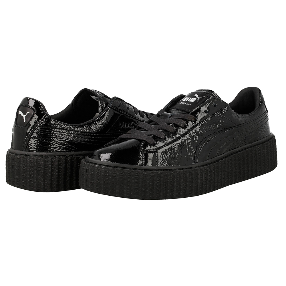 puma creeper x fenty by rihanna wrinkled patent 364465. Black Bedroom Furniture Sets. Home Design Ideas