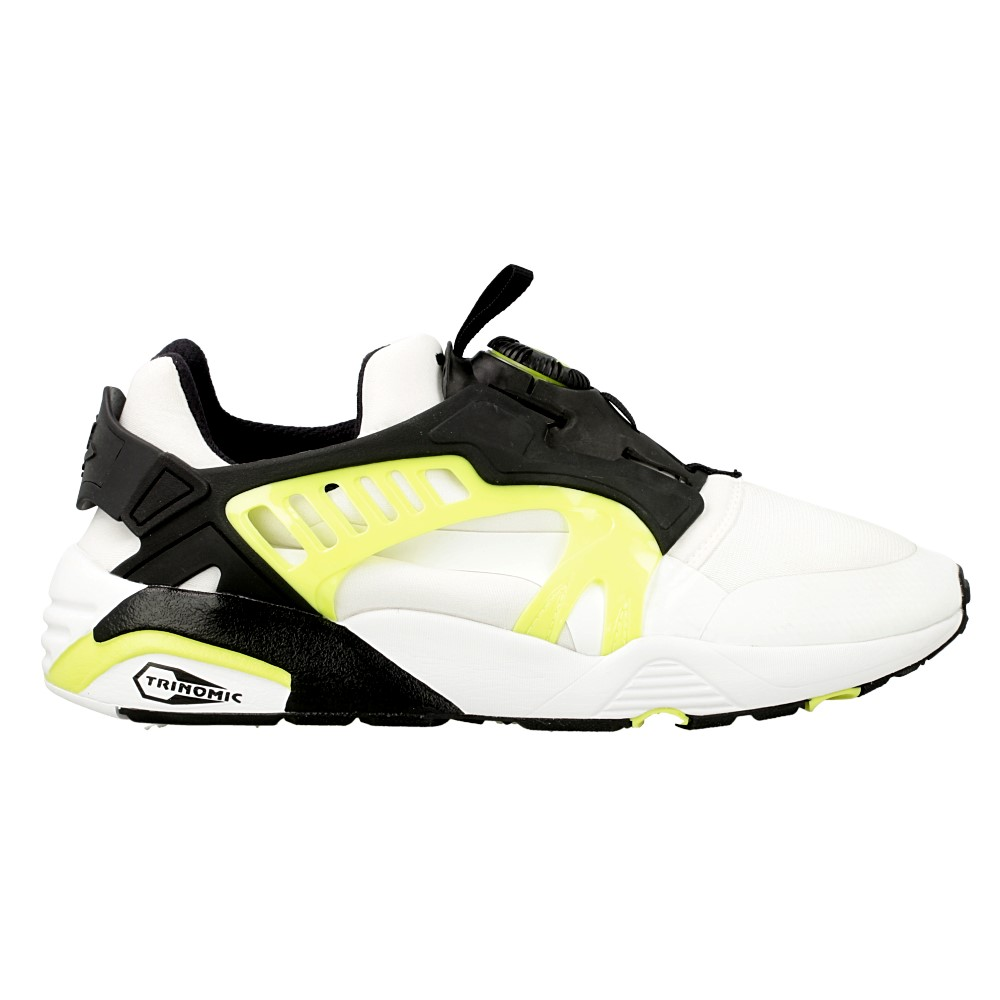 puma disc blaze electric 361409 02 white black cream. Black Bedroom Furniture Sets. Home Design Ideas