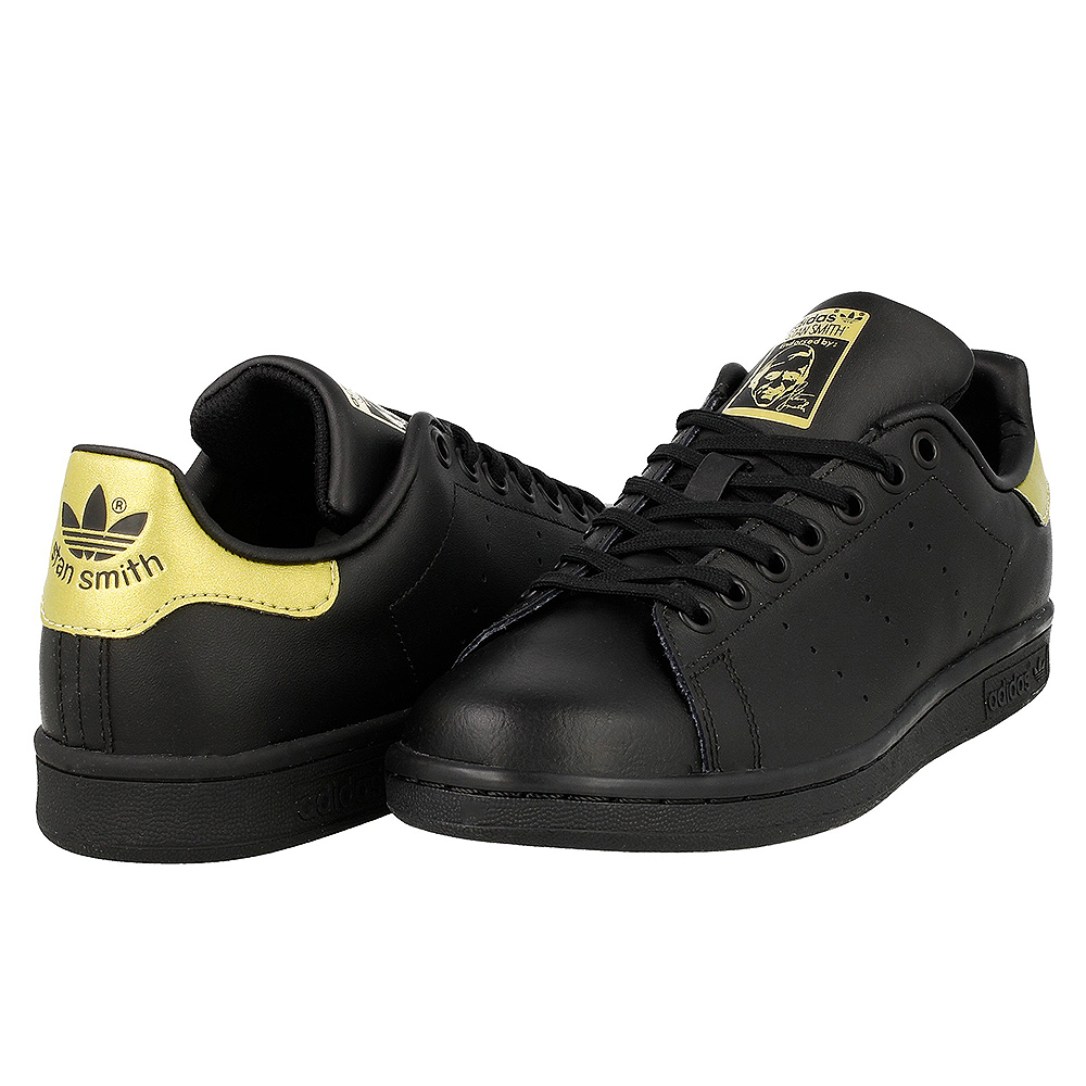 adidas stan smith j bb0208 black gold en. Black Bedroom Furniture Sets. Home Design Ideas