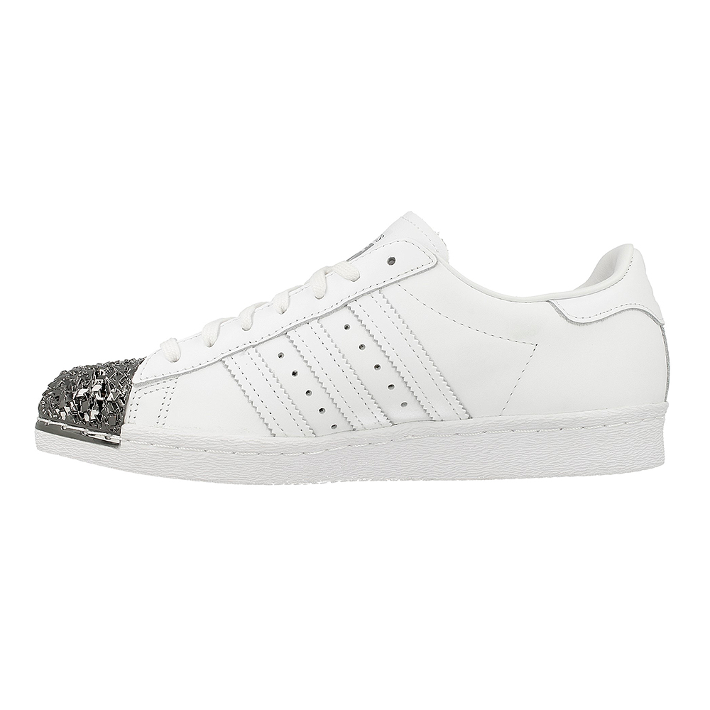 adidas superstar 80s metal toe tf s76532 white silver. Black Bedroom Furniture Sets. Home Design Ideas
